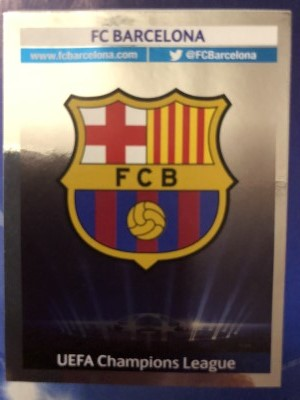 Panini 554 Sieger FC Barcelona UEFA CL 2011//12